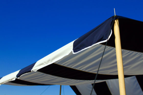 """Valance"" TC Tarp Type2 ( Normal ) -Dark Brown/Navy"